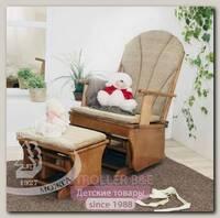 Кресло-качалка с подставкой для ног С 254 Красная Звезда Можга