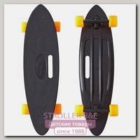 Скейтборд RT Y-Scoo Longboard Shark 31' с ручкой и сумкой, 79х22