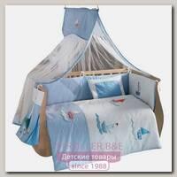 Комплект постельного белья Kidboo Blue Marine 3 предмета