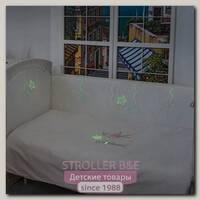 Комплект постельного белья в детскую кроватку Makkaroni Kids Horses, 6 предметов