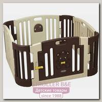GP-8011B Детский манеж Edu Play коричневый