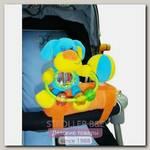 Развивающая игрушка подвеска на бампер коляски I-Baby Собачка