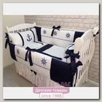 Комплект постели в кроватку Marele Севастопольский Порт 460231, 10 предметов