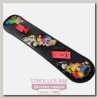 Детский пластиковый сноуборд RT с облегченным креплением