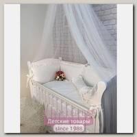 Комплект постели в кроватку Marele БелоСнежный 460232, 12 предметов