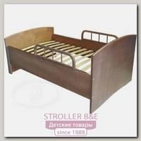 Детская кроватка-трансформер Красная Звезда С 633 раздвижная с барьером