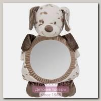 Зеркало для контроля за ребенком Nattou Наттоу Mirror for car Max, Noa & Tom Собачка
