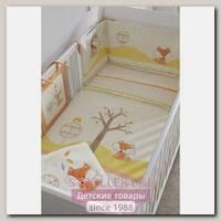 Комплект белья в кроватку Tutti Bambini Woodland Walk Тутти Бамбини Вудлэнд Вок, 7 предметов