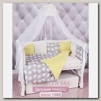Комплект постели в кроватку AmaroBaby Совята, 18 предметов
