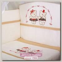 Комплект постельного белья Lappetti Мишки-Модники 3 предмета