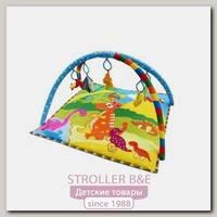 Детский игровой коврик с игрушками La-Di-Da Планета Динозавриков (PM008)
