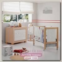 Комплект Micuna Neus Lux №4: кроватка 120 х 60 см + тумба