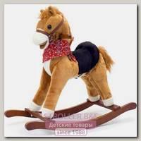 Качалка меховая Jolly Ride Пони YR 400T