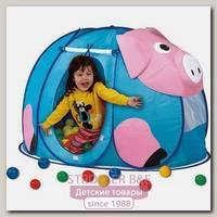 Детская палатка Calida Поросенок + 100 шаров