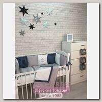 Комплект постели для прямоугольной кроватки Marele Джентельмен 460275-пр, 18 предметов
