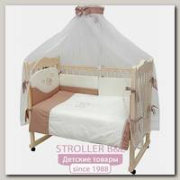 Комплект постели в кроватку Топотушки Карамелька, 7 предметов