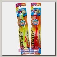Зубная щетка Dr. Fresh Roxy Kids Firefly Доктор Фреш Рокси Кидс Файрфлай с мигающим таймером, 2 шт.