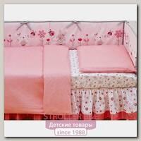Комплект сменного постельного белья Giovanni Shapito Pink Джованни Шапито Пинк в кроватку, 2 предмета