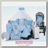 Комплект в кроватку Tuttolina Rabbit, 7 предметов