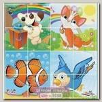 Пазлы Pilsan Animals 4 х 4, 03-196