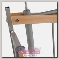Дополнительный зажим для лестницу Easy Lock Wood серый