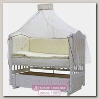 Комплект постели в кроватку Топотушки Любовь, 7 предметов, стежка