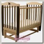 Детская кроватка Соня 05 Лошадка Колор, продольный маятник, без ящика