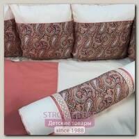 Комплект постели для прямоугольной кроватки Marele Восточные Огурцы 460009-12, 19 предметов