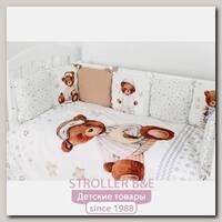 Комплект постели в кроватку Топотушки Пижамная Вечеринка 683, 6 предметов