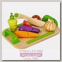 Игровой набор Eichhorn Доска с овощами 100003722, 12 деталей