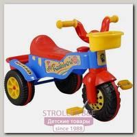 Детский 3-х колёсный велосипед Pilsan Rainbow Bike 3+
