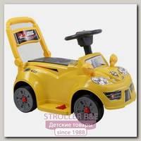 Электроминикар JiaJia B21 6V Yellow, 3-6 лет, с музыкой и дистанционным управлением