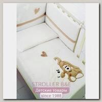 Комплект постели Baby Expert Cremino Беби Эксперт Кремино в кроватку, 4 предмета